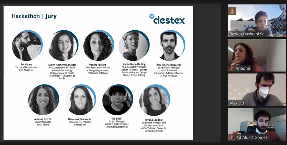 C.P. Aluart Participa En La Segunda Hackathon Del Proyecto Destex